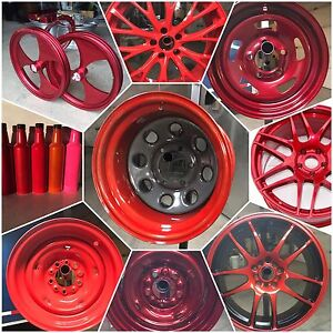When you look at your wheels do you see red?