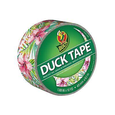 Duck Brand 284631 Single Roll Printed Duct Tape 1.88 X 10 Yd Tropics