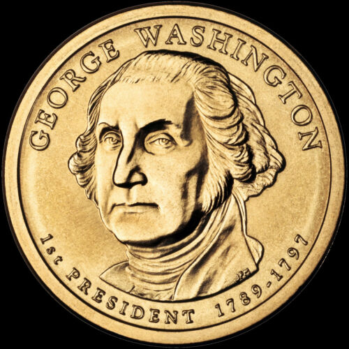 "2007 D George Washington Presidential Dollar ""Brilliant Uncirculated"" Coin US"
