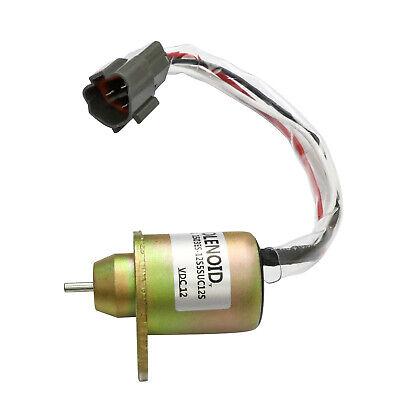 Fuel Shut Off Solenoid For M810324 John Deere 4200 4300 4400 4500 4600 4700 Usa