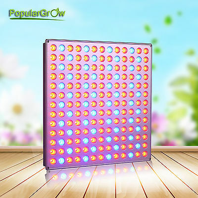 3cef3aa1879 PopularGrow 45W LED Grow Light Panel indoor Hydroponics Veg plant growth  lamp