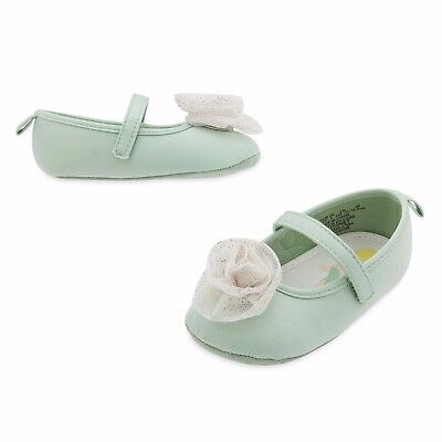 Disney Store Tinker Bell Fairy Baby Costume Shoes Size 6 12 18 24 Months New](Infant Tinkerbell Costume 6 Months)