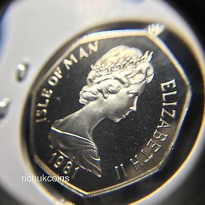 1981 T.T. Commemorative Diamond Finish 50p Coin