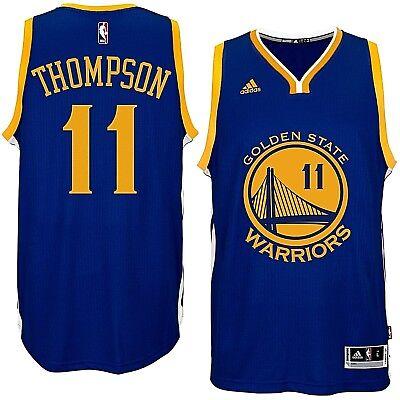 aa301d8fe5a Golden State Warriors adidas NBA Swingman Road Jersey Klay Thompson #11 Size  XL