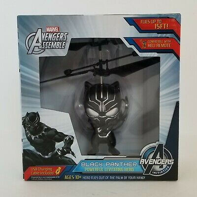 Black Panther For Kids (New Marvel Avengers Assemble: Black Panther Powerful Levitating Hero for)