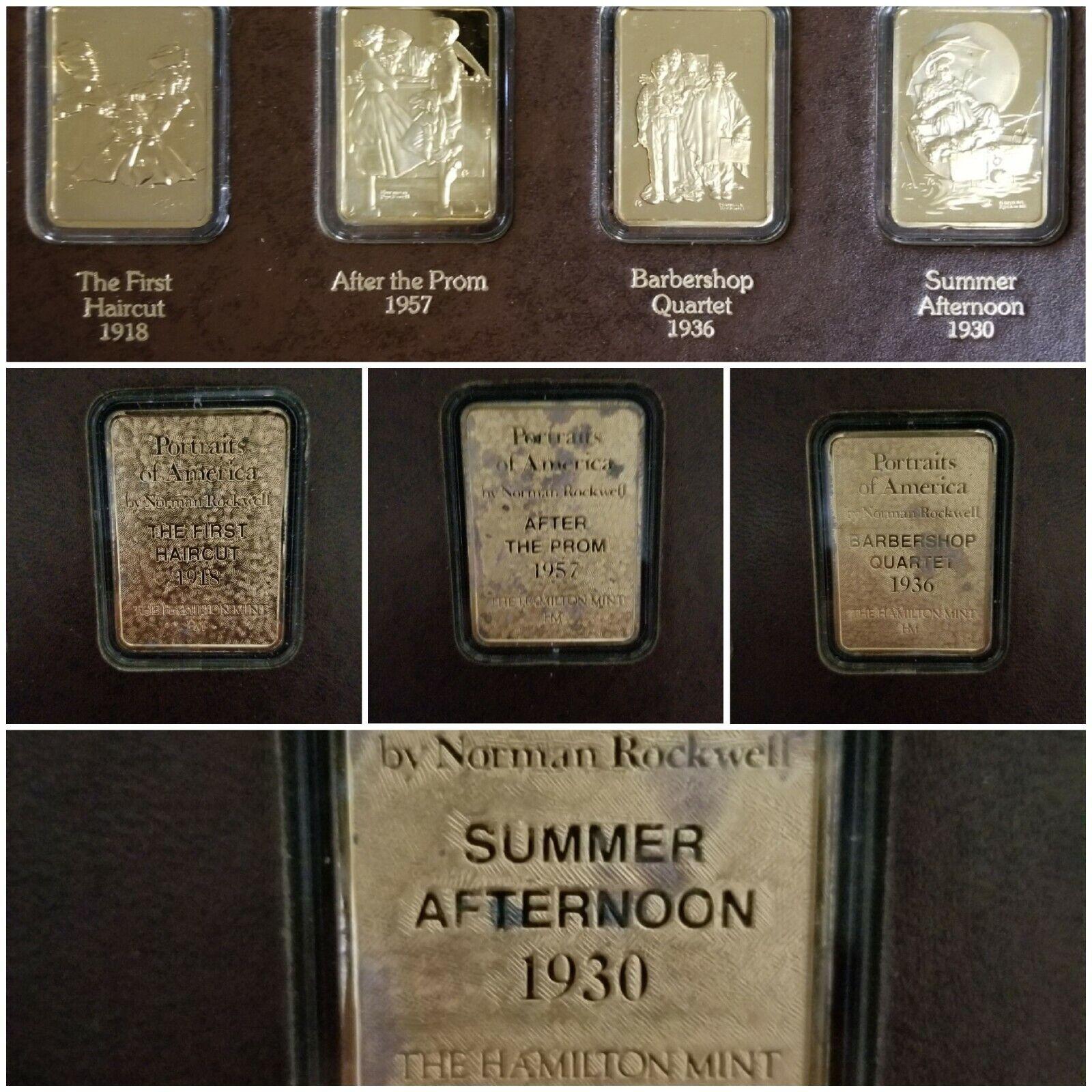 24 Troy Oz .999 Fine 24 EGP Silver Bars/Rounds, Hamilton Mint, Error Date  - $1,250.00