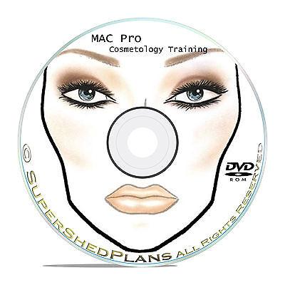 1800+ Makeup Face Charts - MAC Pro Bible Cosmetics Manual Training DVD CD B51