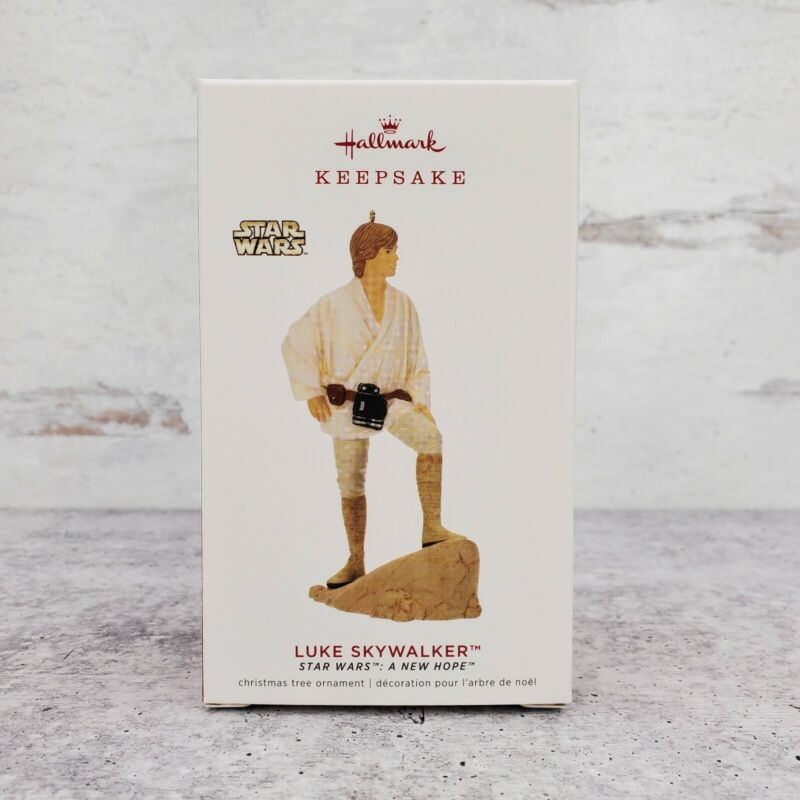 2019 Hallmark Luke Skywalker 23rd in Series Star Wars Ornament