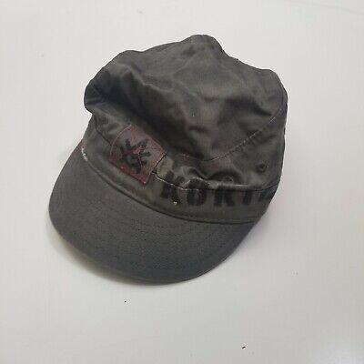 A.KURTZ Suede Military Legion Cap Hat Steeled Crimson Red AK563