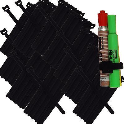 100 820cm Nylon Cable Ties Wire Strap Wrap Fastening Organizer Reusable Black