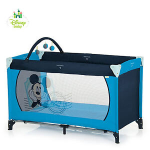NEW HAUCK DISNEY V MICKEY DREAM N PLAY TRAVEL COT PORTABLE BABY BOYS PLAYPEN