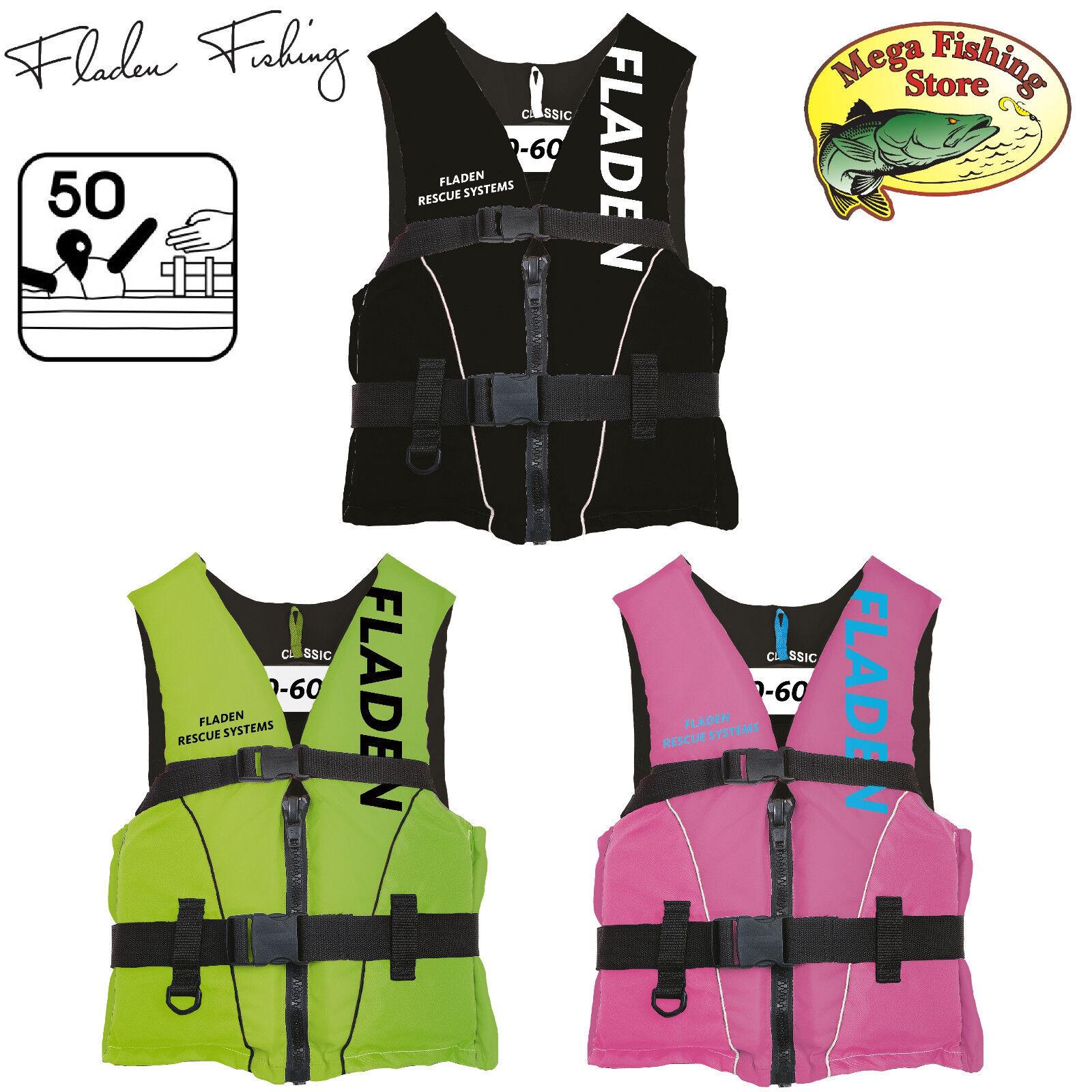 Fladen Rescue System Schwimmweste Kinder & Erwachsene Gr. S - XL (Rettungsweste)