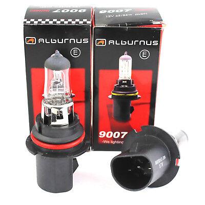 2x 9007 Hb5 12v 6555w Px29t Halogen Headlamp Bulb Autolamps*