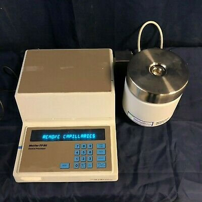 Mettler Melting Point Apparatus Fp 80 With Fp 81 Ht Mbc Cell