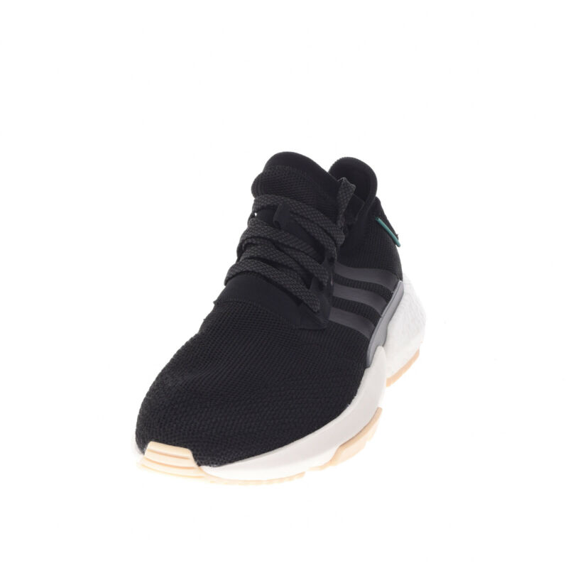 ADIDAS ORIGINALS Knitted Low Top Sneakers EU 42 2/3 UK 8.5 US 10 Thick Sole Logo