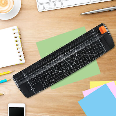 Portable Paper Cutter A4 Paper Trimmer 12 Photo Guillotine Craft Machine D9h1