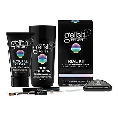 Gelish PolyGel Professional Nail Technician Gel Polish All-in-One Trial Kit