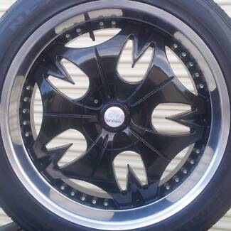 22 INCH JEEP WHEELS & TYRES JK WRANGLER and GRAND CHEROKEE Woody Point Redcliffe Area Preview