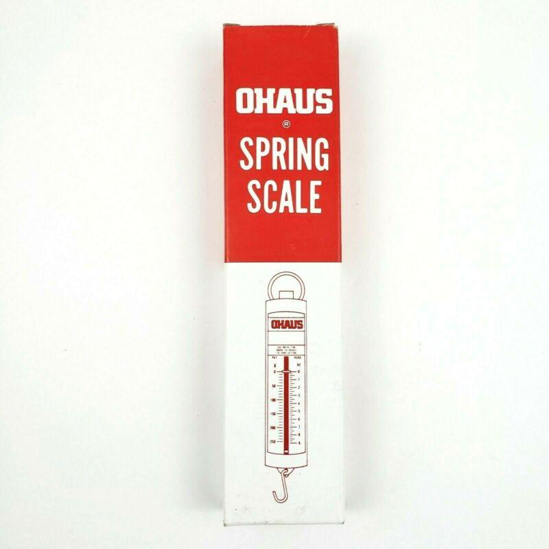 Ohaus · Metal Tab Spring Scale · 5000 Grams Capacity