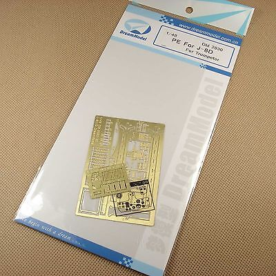 1/48 PLA Air Force J-8 D 8D Update Detail PE Etched For Trumpeter D2030