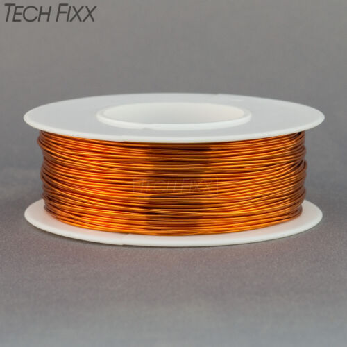 Magnet Wire 25 Gauge AWG Enameled Copper 250 Feet Coil Winding and Crafts 200C