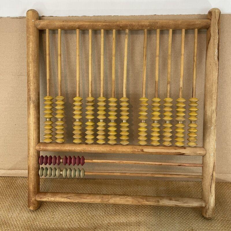 Vintage Wood Abacus