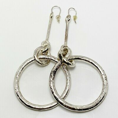 New! $650 Ippolita Classico Sterling Silver Earrings (6239)