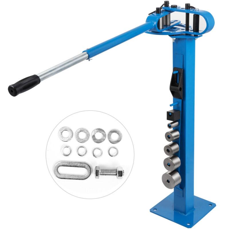 """Manual Floor Metal Bender Pipe Tube Steel Bender 1""""-3"""" 7 Dies Metal Fabrication"""