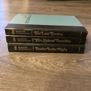 F. Scott Fitzgerald Book Set, Hardcover, Printed 1969