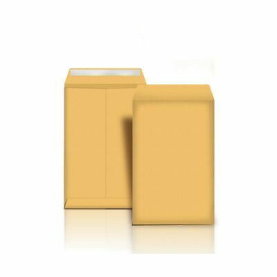 Secure Catalog Envelopes 9 X 12 100 Pcs Smooth Brown Kraft Peal Seal Closure