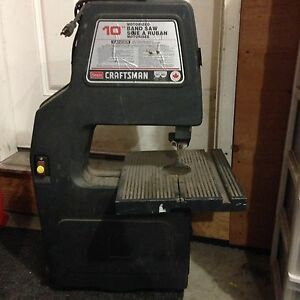 "Craftsman 10"" Band Saw"