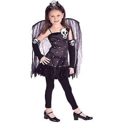 Kostüm USA 146/152/158 schwarze Fee Fairy - Schwarze Fee Kostüm