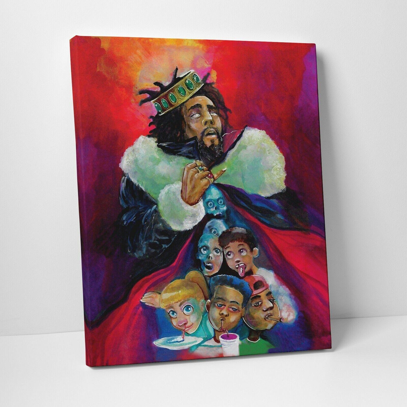 N-172 J Cole Poster KOD Music Tour Hip Hop Rap Music Wall Decor