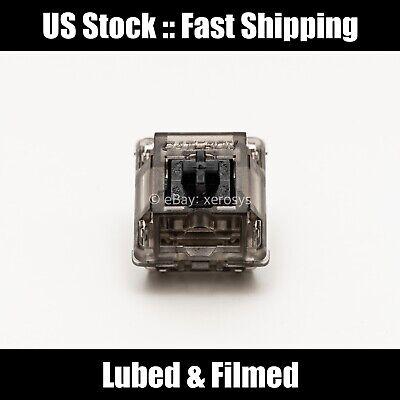 [US Stock] Gateron Ink Black v2 - Lubed & Filmed (Krytox 205g0/105 + Filmed)