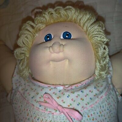 1978 *1984* The Little People soft Sculpture Cabbage Patch Kids Xavier...