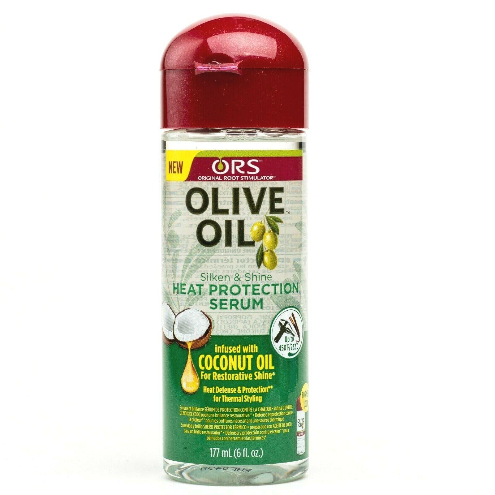 Ors Olive Oil Anti-Frizz Glossing Polisher 6oz Bonus