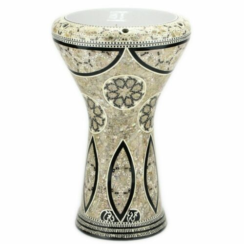 M05 Drum Darbuka tabla doumbek mother of pearl Gawharet El Fan free bag 17 inch