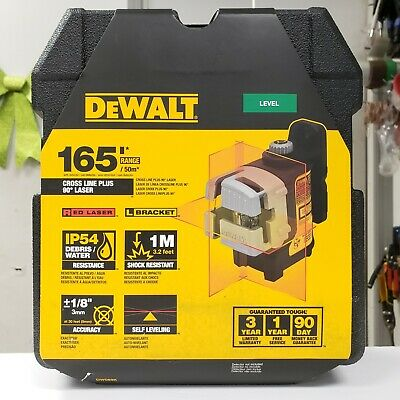 Dewalt Dw089k Self Leveling 3 Beam Laser Chalk Cross Line Plus