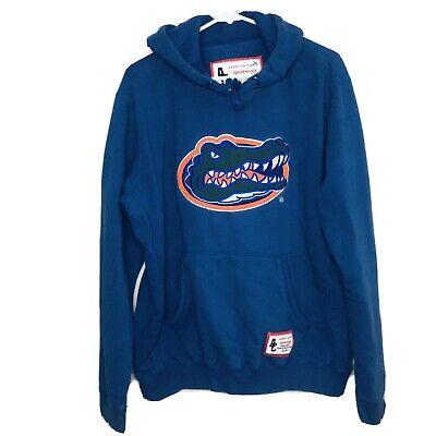 America Classic University Of Florida Gators NCAA College Hoodie Mens Size Large
