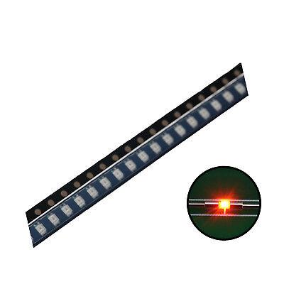 500pcs Smd Led Diode 06031608 Lights Chipsorange Ultra Bright Bulb