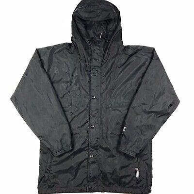 Helly Hansen Men's Black Hooded Packable Jacket Size Medium