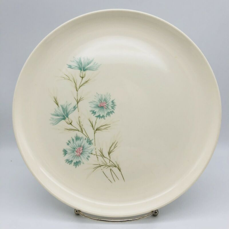 "Taylor Smith & Taylor Boutonniere Floral Ever Yours 10"" Dinner Plates Set of 2"
