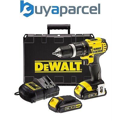 DeWalt DCD785D2 18V XR LI-ION 2 Velocidad Taladro Combi Con 2 X 2.0ah Baterías