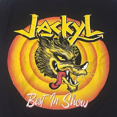 Jackyl Small Black T-shirt Hard Rock Band Best In Show Southern Metal