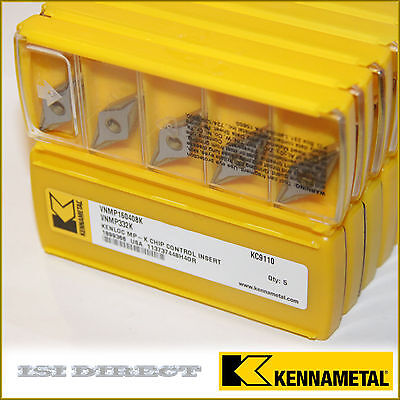 VNMP 332 K KC9110 KENNAMETAL *** 10 INSERTS *** FACTORY PACK ***