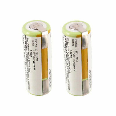 2pc electric toothbrush battery for oral b