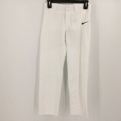 Martin Adult Baseball Softball Belt Loop Pants White w Black Pinstripes 2XL NWT