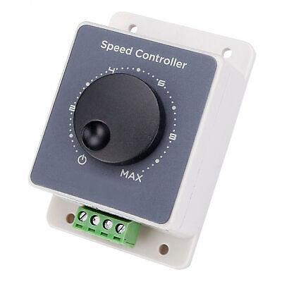 12v 24v 48v 20a Dc 10-60v Motor Adjustable Speed Controller Regulator Switch Us