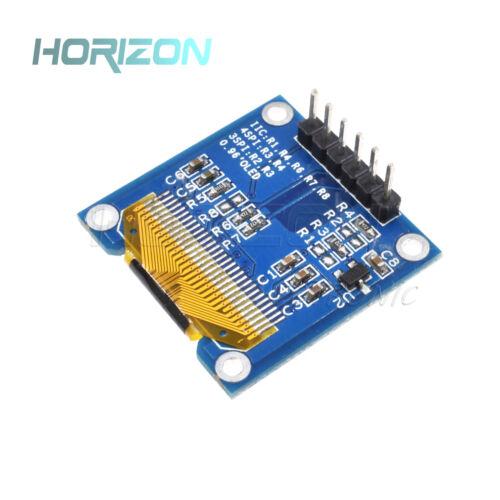 "Blue 0.96/"" SPI 128X64 OLED LCD Display Module Arduino//STM32//AVR//51"