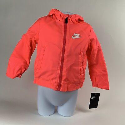 Toddler Full Zip Hoodie (TODDLER GIRLS: Nike Fleece Full-Zip Hoodie Jacket, Racer Pink, 4T 26D913-A4F)